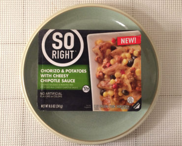 So Right Chorizo & Potatoes with Cheesy Chipotle Sauce Review