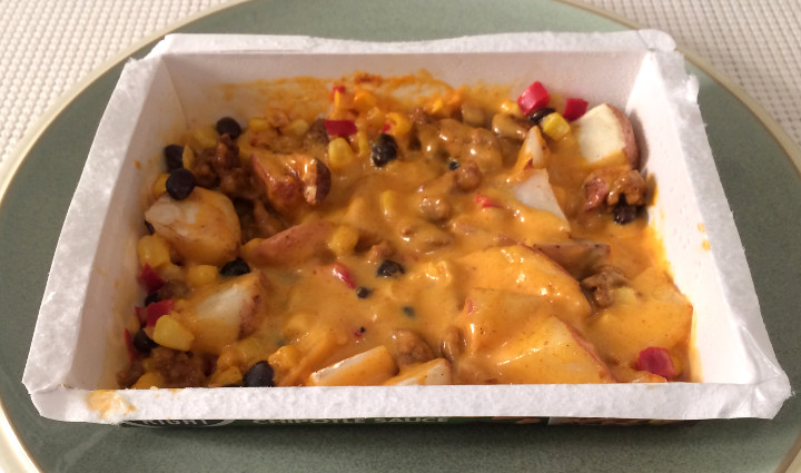 So Right Chorizo & Potatoes with Cheesy Chipotle Sauce