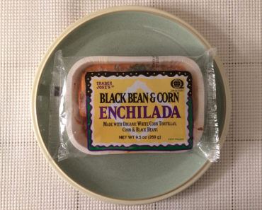 Trader Joe's Black Bean & Corn Enchilada