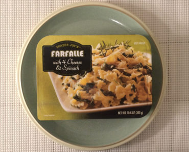 Trader Joe's Farfalle with 4 Cheeses & Spinach