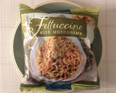 Trader Joe's Fettuccine with Mushrooms