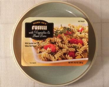 Trader Joe's Fusilli with Vegetables & Basil Pesto Review