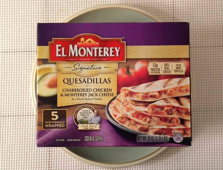 El Monterey Charbroiled Chicken & Monterey Jack Cheese Quesadillas