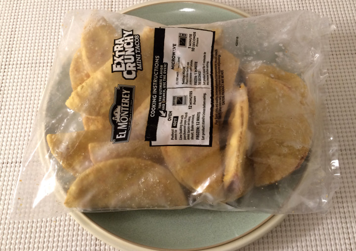 El Monterey Extra Crunchy Beef & Cheese Mini Tacos