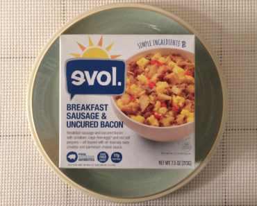 Evol Breakfast Sausage & Uncured Bacon Bowl