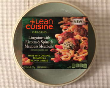 Lean Cuisine Linguine with Ricotta & Spinach Meatless Meatballs