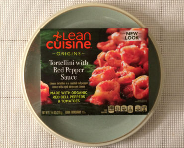 Lean Cuisine Tortellini with Red Pepper Sauce