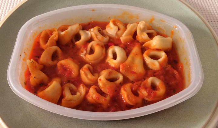 Lean Cuisine Tortellini with Red Pepper Sauce