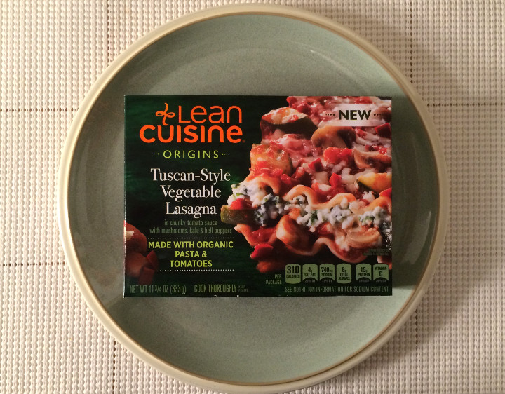Lean Cuisine Tuscan-Style Vegetable Lasagna