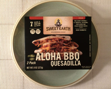 Sweet Earth Aloha BBQ Quesadilla