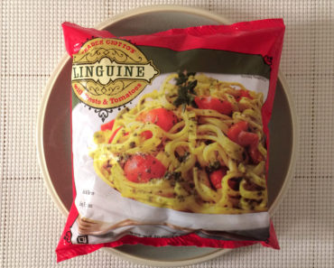 Trader Joe's Linguine with Pesto & Tomatoes