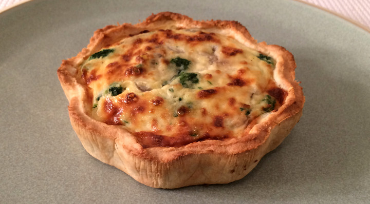 Trader Joe's Mixed Mushroom & Spinach Quiche