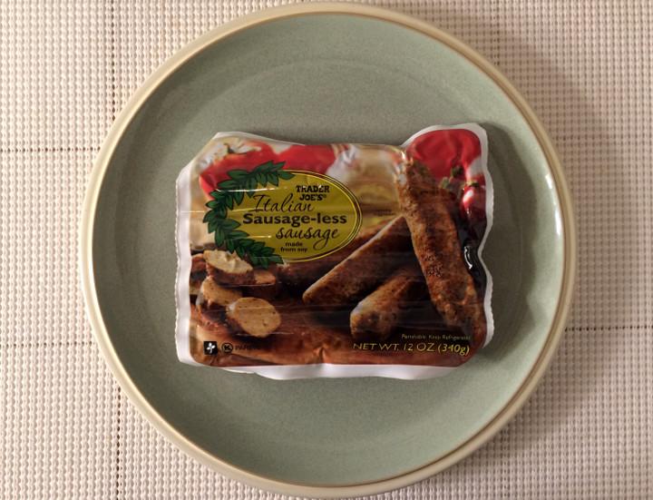 Trader Joe's Italian Sausage-Less Sausage