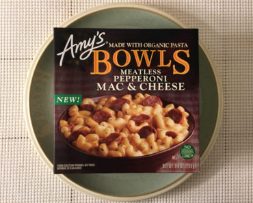 Amy's Meatless Pepperoni Mac & Cheese