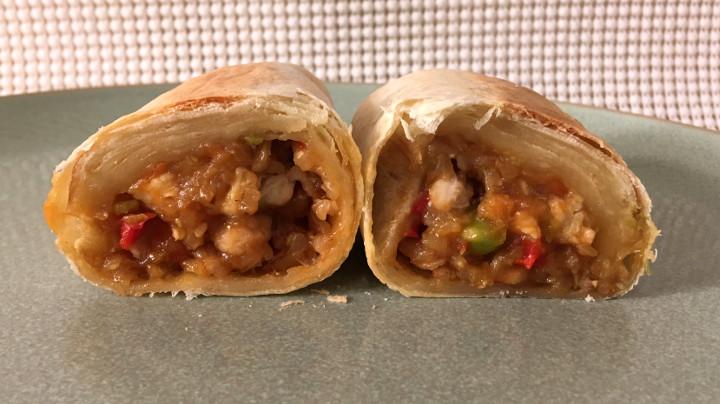 Evol Teriyaki Chicken Burrito