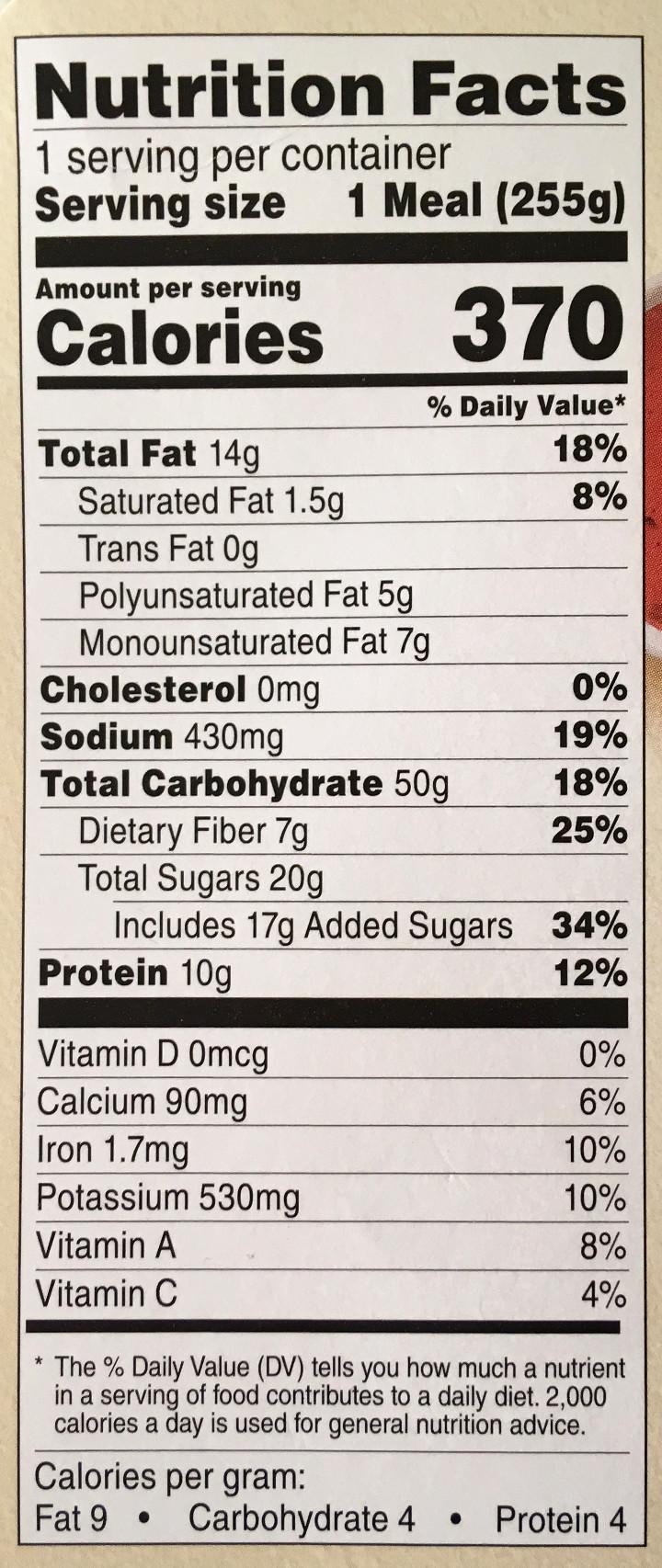 Healthy Choice Mango Edamame Power Bowl