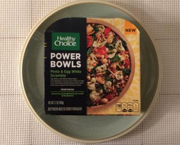 Healthy Choice Pesto & Egg White Scramble Review
