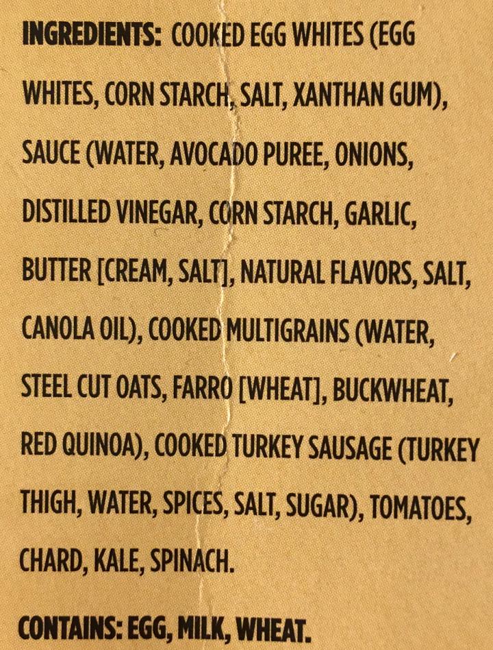 Healthy Choice Turkey Sausage & Egg White Scramble