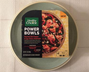 Healthy Choice Roasted Red Pepper & Egg White Shakshuka Review