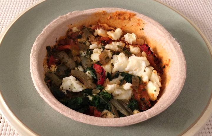 Healthy Choice Roasted Red Pepper & Egg White Shakshuka