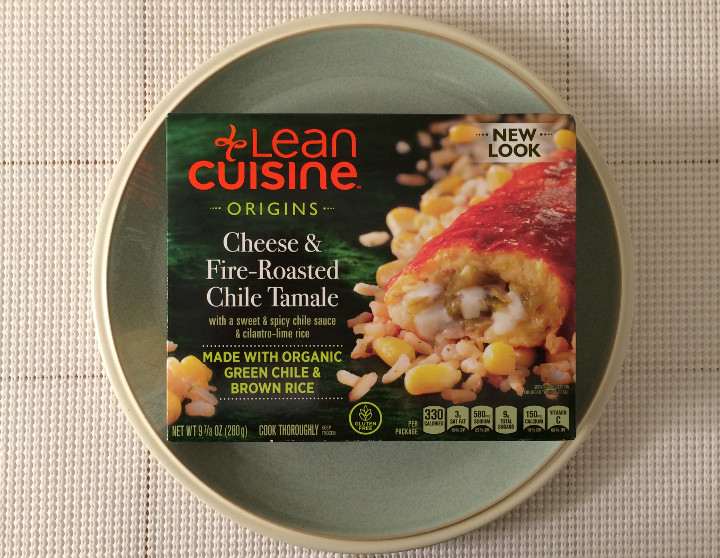 Lean Cuisine Origins Cheese & Fire-Roasted Chile Tamale