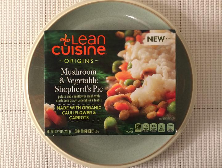 Lean Cuisine Mushroom & Vegetable Shepherd's Pie