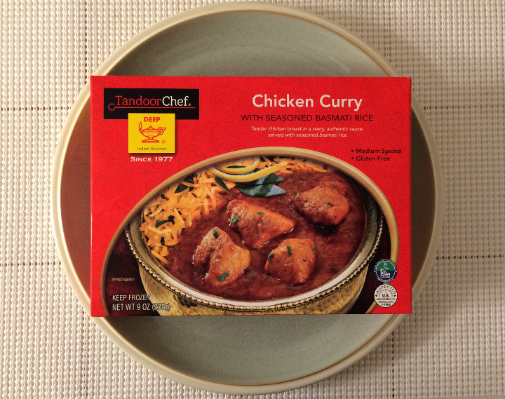 Tandoor Chef Chicken Curry with Seasoned Basmati Rice