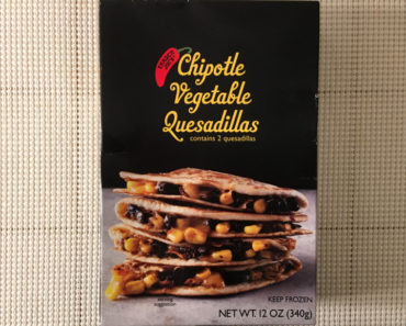 Trader Joe's Chipotle Vegetable Quesadilla Review