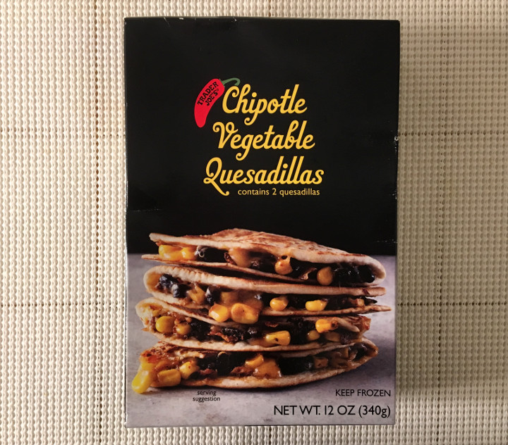 Trader Joe's Chipotle Vegetable Quesadilla