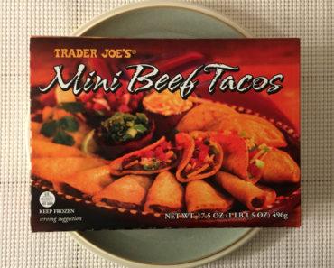 Trader Joe's Mini Beef Tacos