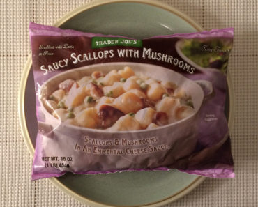 Trader Joe's Saucy Scallops with Mushrooms