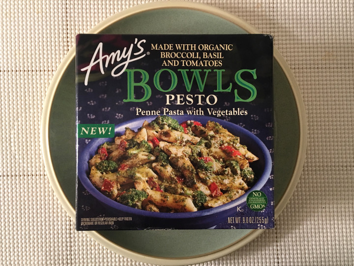 Amy's Pesto Penne with Vegetables Bowl