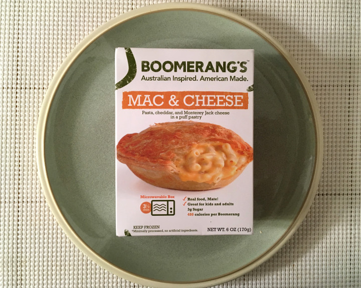 Boomerang's Mac & Cheese Pie