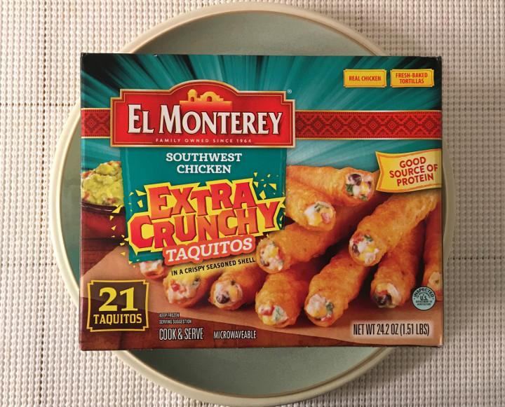 El Monterey Extra Crispy Southwest Chicken Taquitos