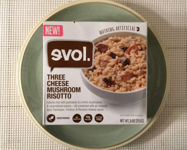 Evol Three Cheese Mushroom Risotto
