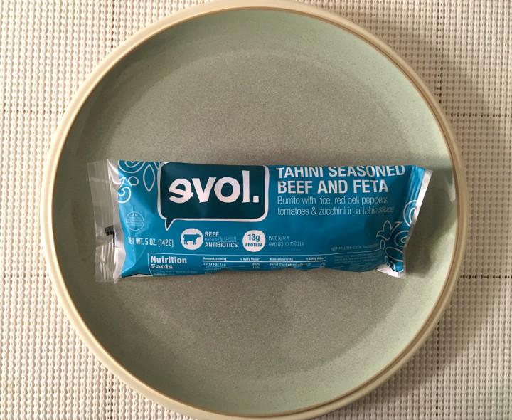Evol Tahini Seasoned Beef and Feta Burrito