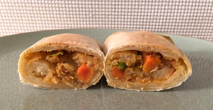 Evol Chicken Tikka Masala Burrito