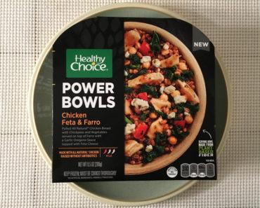 Healthy Choice Chicken Feta & Farro Power Bowl Review