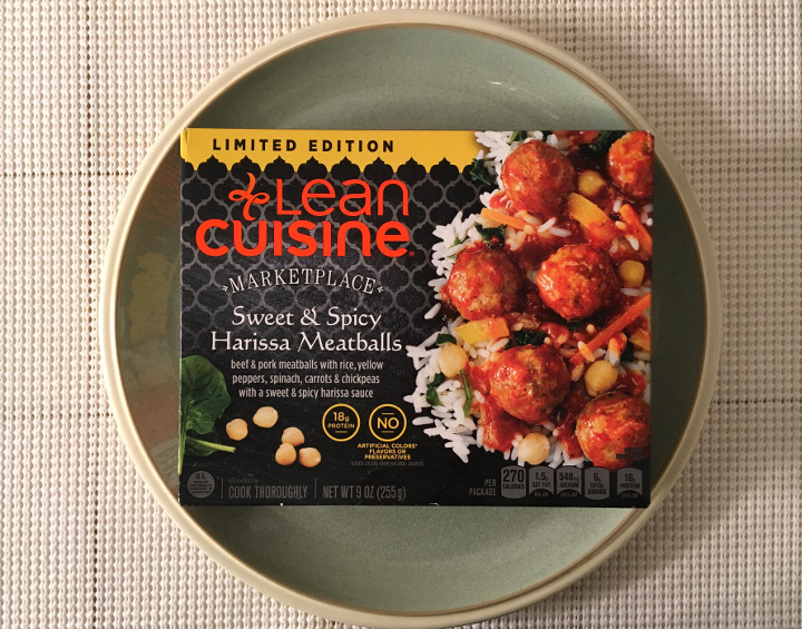Lean Cuisine Sweet & Spicy Harissa Meatballs