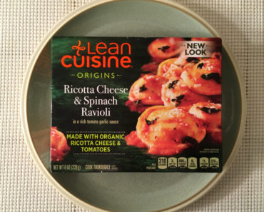 Lean Cuisine Origins Ricotta Cheese & Spinach Ravioli