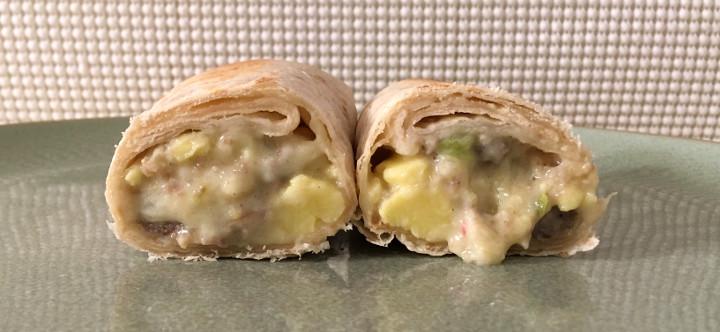 Red's Turkey Sausage, Egg & Three Cheese Burrito