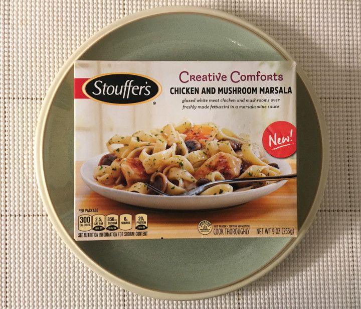 Stouffer's Chicken and Mushroom Marsala