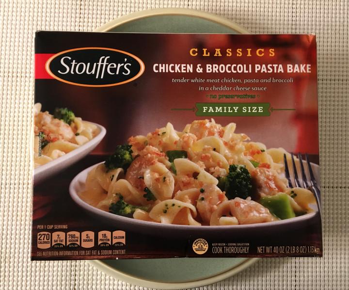 Stouffer's Chicken & Broccoli Pasta Bake