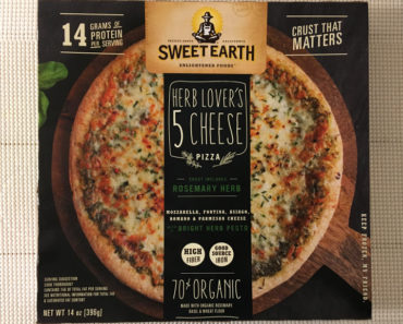 Sweet Earth Herb Lover's 5 Cheese Pizza