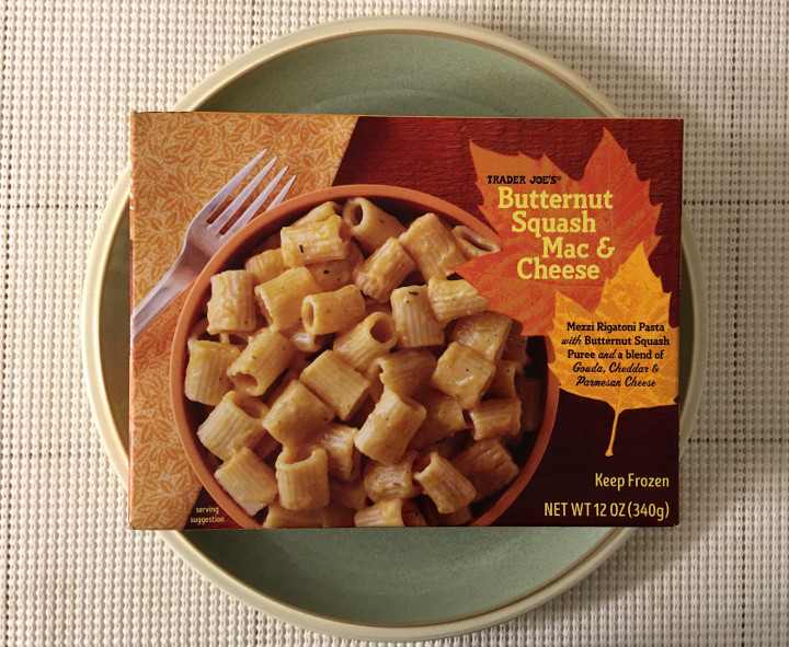 Trader Joe's Butternut Squash Mac & Cheese