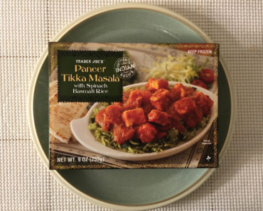 Trader Joe's Paneer Tikka Masala with Spinach Basmati Rice