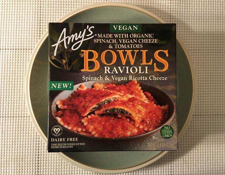 Amy's Ravioli with Spinach & Vegan Ricotta Cheeze