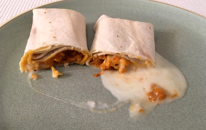El Monterey Chicken & Monterey Jack Cheese Burrito