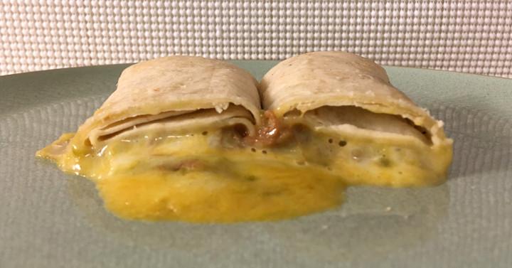 El Monterey Shredded Steak & Three-Cheese Chimichanga