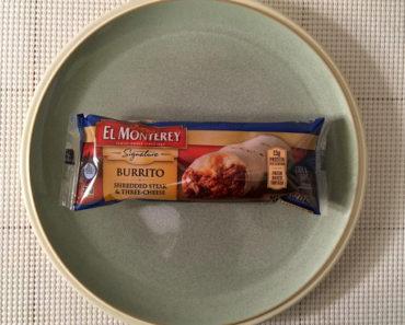 El Monterey Shredded Steak & Three-Cheese Burrito